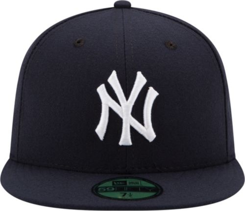 0fbe4ab3a1c New Era Men s New York Yankees 59Fifty Game Navy Authentic Hat.  noImageFound. Previous. 1. 2