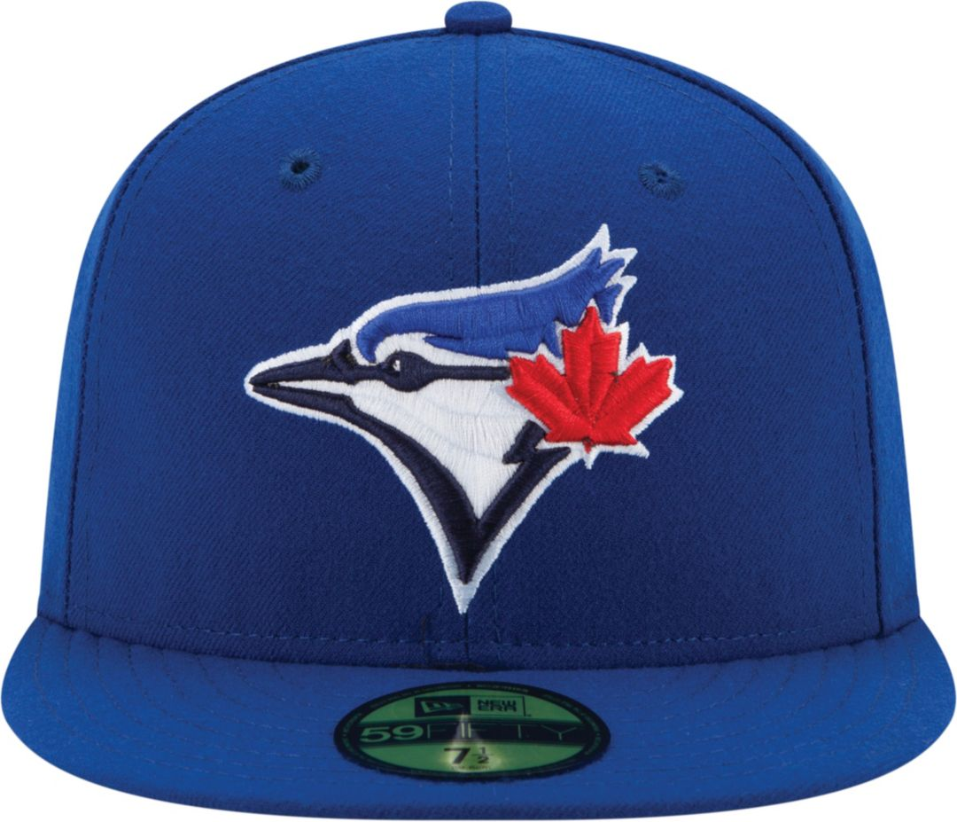 adb2a9a36a3bf2 New Era Men's Toronto Blue Jays 59Fifty Game Royal Authentic Hat ...