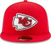 New Era Men's Kansas City Chiefs Red 59Fifity Logo Fitted Hat product image