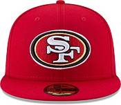 New Era Men's San Francisco 49Ers Red 59Fifity Logo Fitted Hat product image