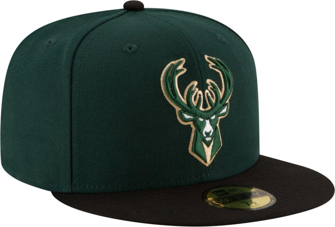 new concept 7e441 feff5 New Era Men s Milwaukee Bucks 59Fifty Fitted Hat. noImageFound. Previous.  1. 2. 3