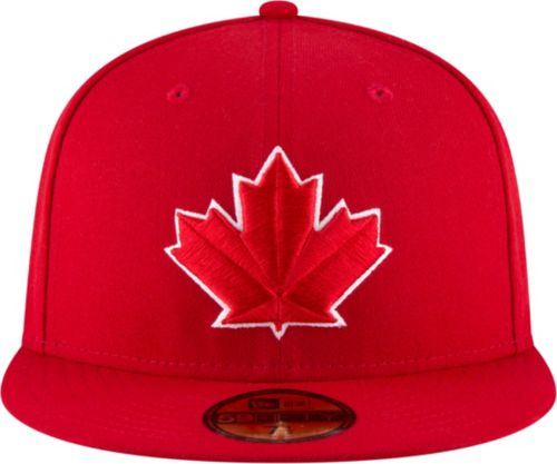 434c7b54a53 New Era Men s Toronto Blue Jays 59Fifty Alternate Red Authentic Hat.  noImageFound. Previous. 1. 2