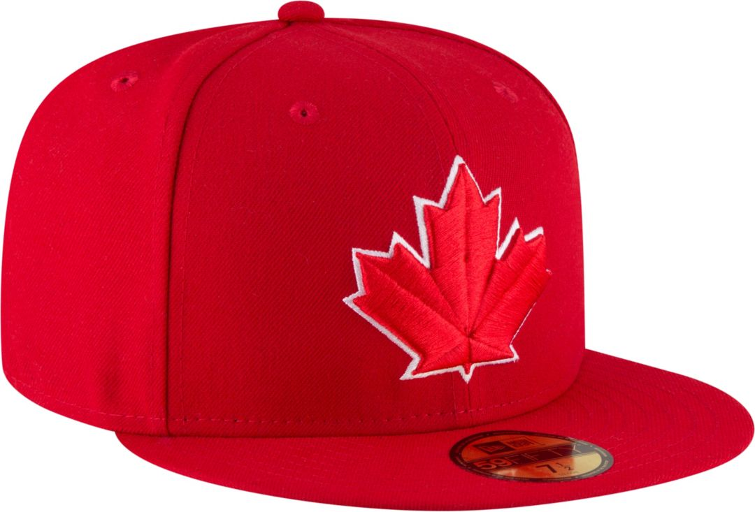 best sneakers 47034 1e944 New Era Men's Toronto Blue Jays 59Fifty Alternate Red Authentic Hat