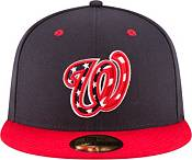 New Era Men's Washington Nationals 59Fifty Alternate Navy Authentic Hat product image