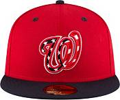 New Era Men's Washington Nationals 59Fifty Alternate Red Authentic Hat product image
