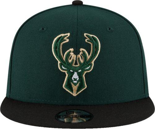 acda1e6087f ... closeout new era youth milwaukee bucks 9fifty adjustable snapback hat  6347c b1afc