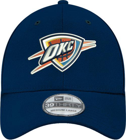 sports shoes d2663 e7062 New Era Men s Oklahoma City Thunder 39Thirty Stretch Fit Hat ...