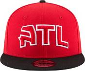 New Era Men's Atlanta Hawks 9Fifty Adjustable Two Tone Snapback Hat product image