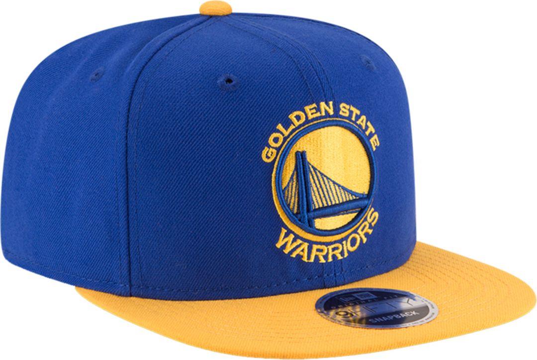buy popular 959a3 e8e69 New Era Men s Golden State Warriors 9Fifty Adjustable Snapback Hat