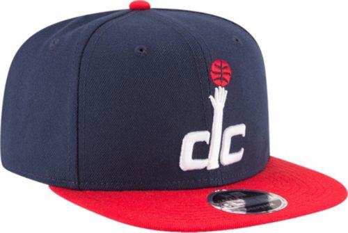 superior quality 0641f 5405a New Era Men s Washington Wizards 9Fifty Adjustable Snapback Hat.  noImageFound. Previous. 1. 2. 3