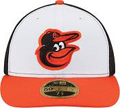 New Era Men's Baltimore Orioles 59Fifty Home White/Black Low Crown Authentic Hat product image