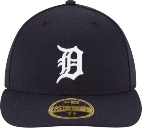 New Era Men s Detroit Tigers 59Fifty Home Navy Low Crown Authentic Hat.  noImageFound. Previous. 1. 2 6d82fc1a8e8f