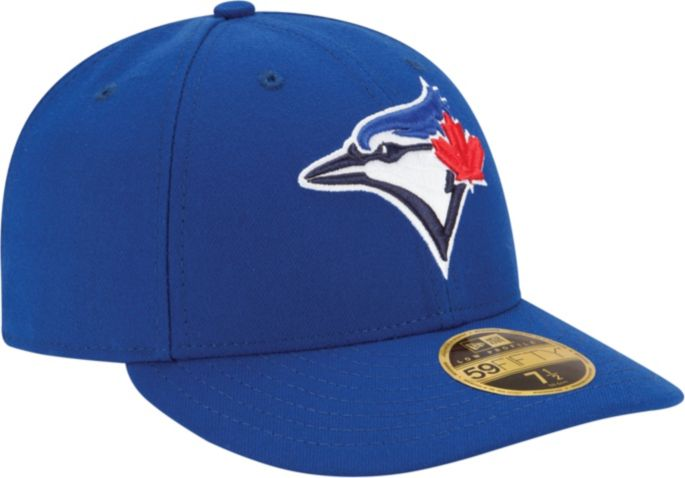 MLB Cap Royal Blue New Era 5950 Youth Toronto Blue Jays GAME Fitted Hat