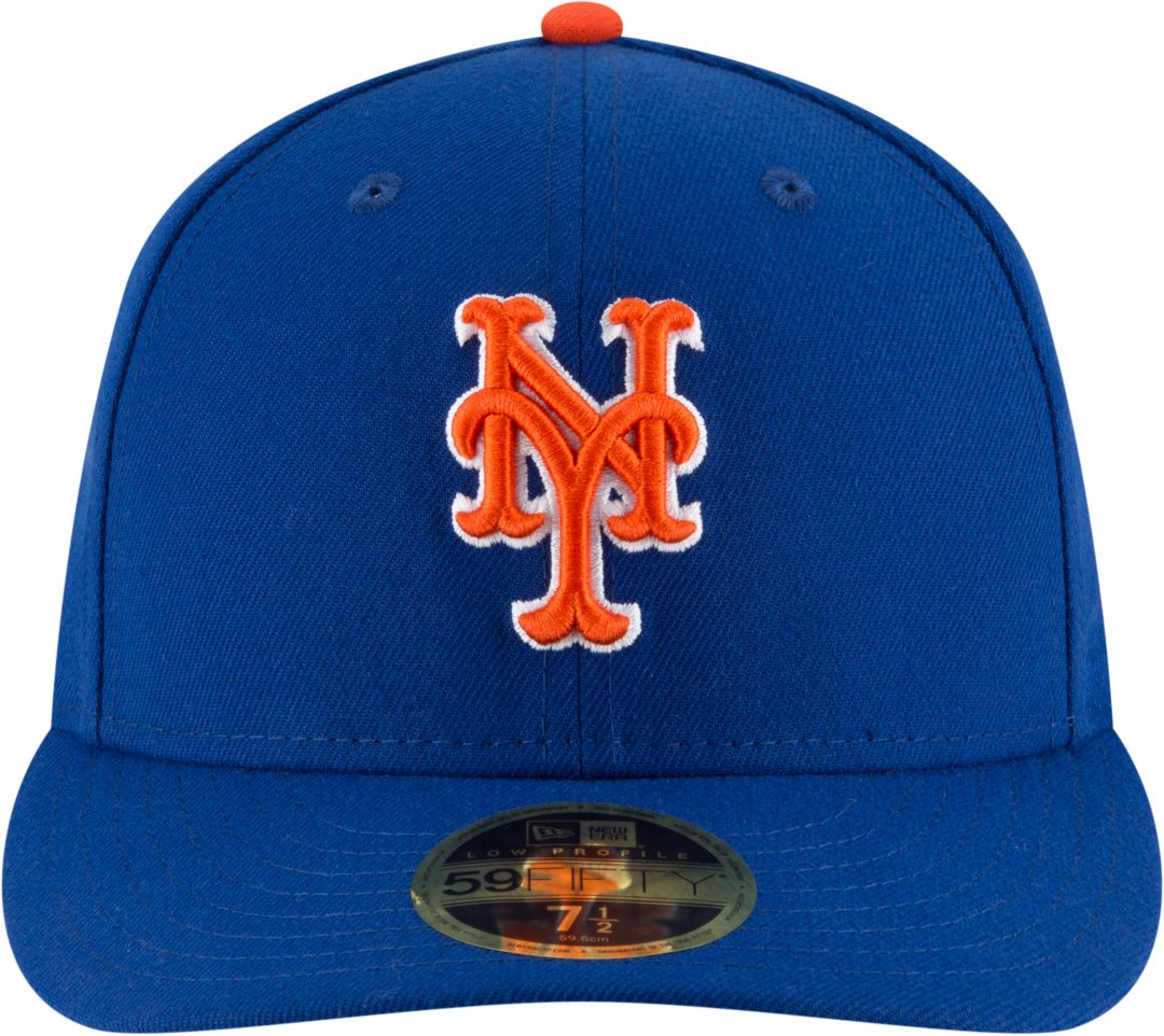 175d5753 New Era Men's New York Mets 59Fifty Alternate Royal Low Crown Fitted Hat