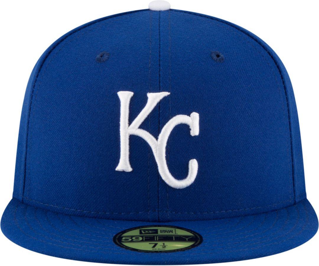finest selection 3fef6 6d864 New Era Men s Kansas City Royals 59Fifty Game Royal Authentic Hat 2