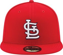 best authentic db799 13df9 New Era Men s St. Louis Cardinals 59Fifty Game Red Authentic Hat alternate 1
