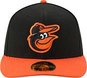 New Era Men's Baltimore Orioles 59Fifty Road Black Low Crown Fitted Hat product image