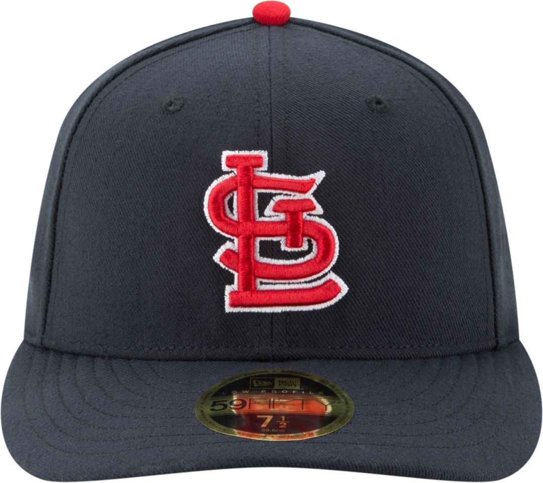 338e83dc New Era Men's St. Louis Cardinals 59Fifty Alternate Navy Low Crown Fitted  Hat