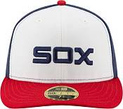 New Era Men's Chicago White Sox 59Fifty Alternate White/Navy Low Crown Fitted Hat product image