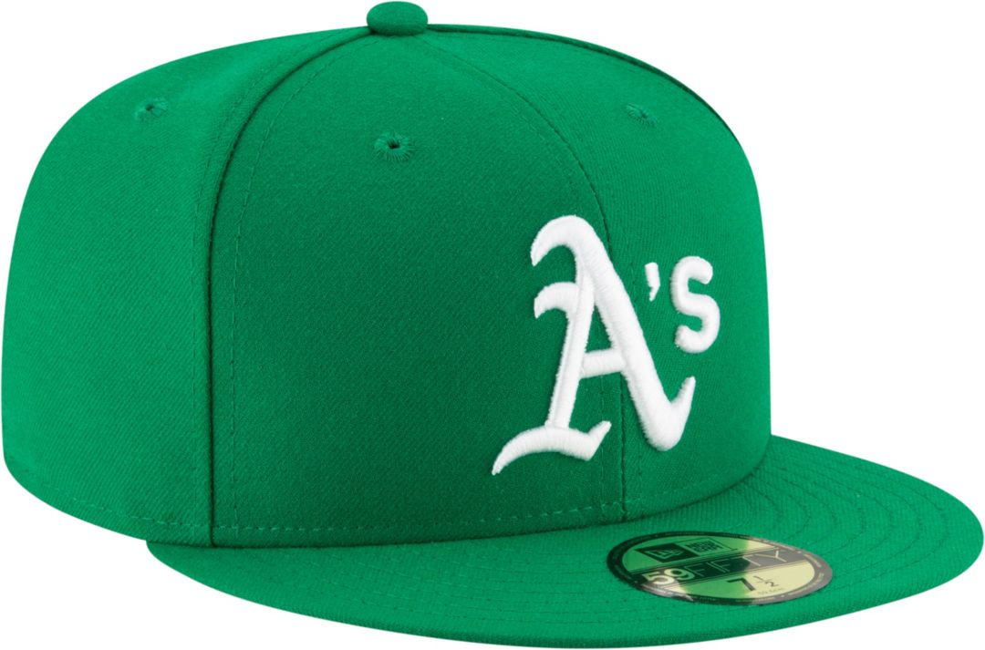 newest collection dba07 6462b New Era Men s Oakland Athletics 59Fifty Alternate Green Authentic Hat.  noImageFound. Previous. 1. 2. 3