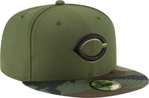 the latest 4cc4e 8eb68 New Era Men s Cincinnati Reds 59Fifty Alternate Camo Authentic Hat.  noImageFound. Previous. 1. 2. 3