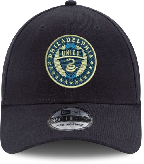 new arrival 8a841 f1c80 New Era Men s Philadelphia Union 39Thirty Stretch Fit Hat