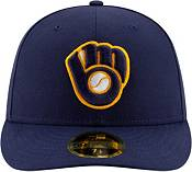 New Era Men's Milwaukee Brewers 59Fifty Alternate Navy Low Crown Fitted Hat product image
