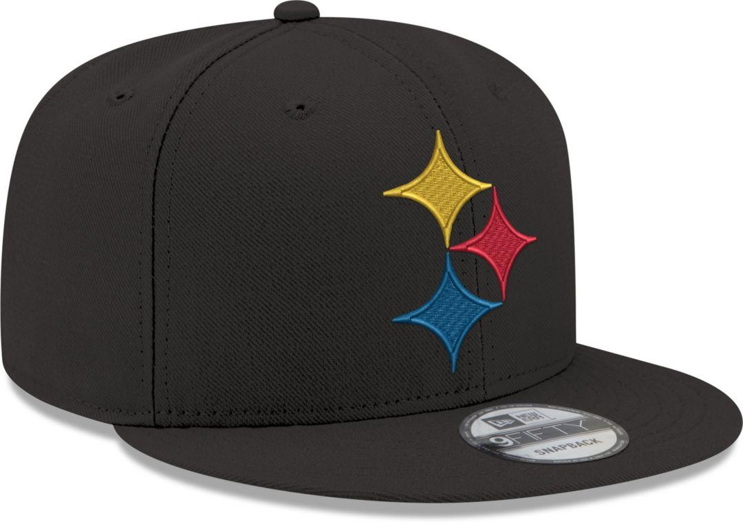 super popular f3e14 d20b9 New Era Men s Pittsburgh Steelers Elemental 9Fifty Adjustable Black Hat.  noImageFound. Previous. 1. 2. 3