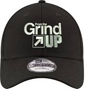 """New Era Men's Brooklyn Nets 9Forty """"From The Grind Up"""" Black Adjustable Hat product image"""