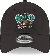 New Era Men's Memphis Grizzlies Hardwood Classic 9Twenty Black Adjustable Hat product image