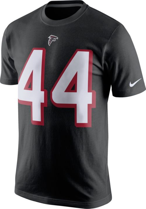 6b770fcb7 Nike Men s Atlanta Falcons Vic Beasley  44 Pride Black T-Shirt ...