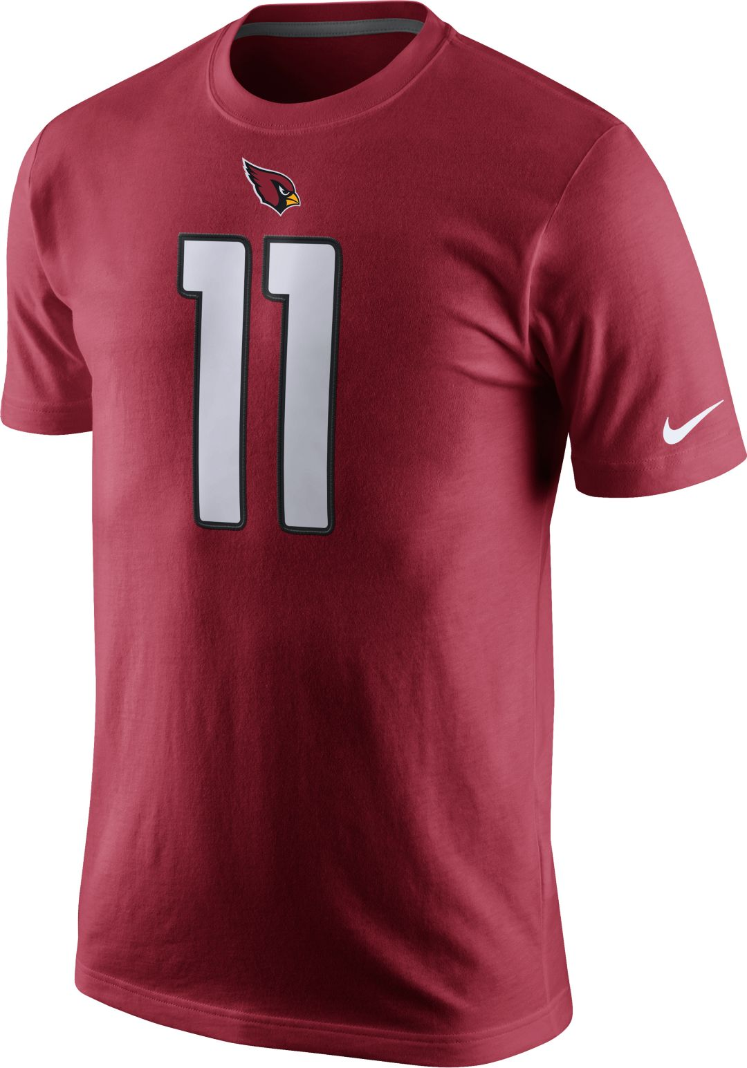 929982f56fa Nike Men's Arizona Cardinals Larry Fitzgerald #11 Pride Red T-Shirt ...