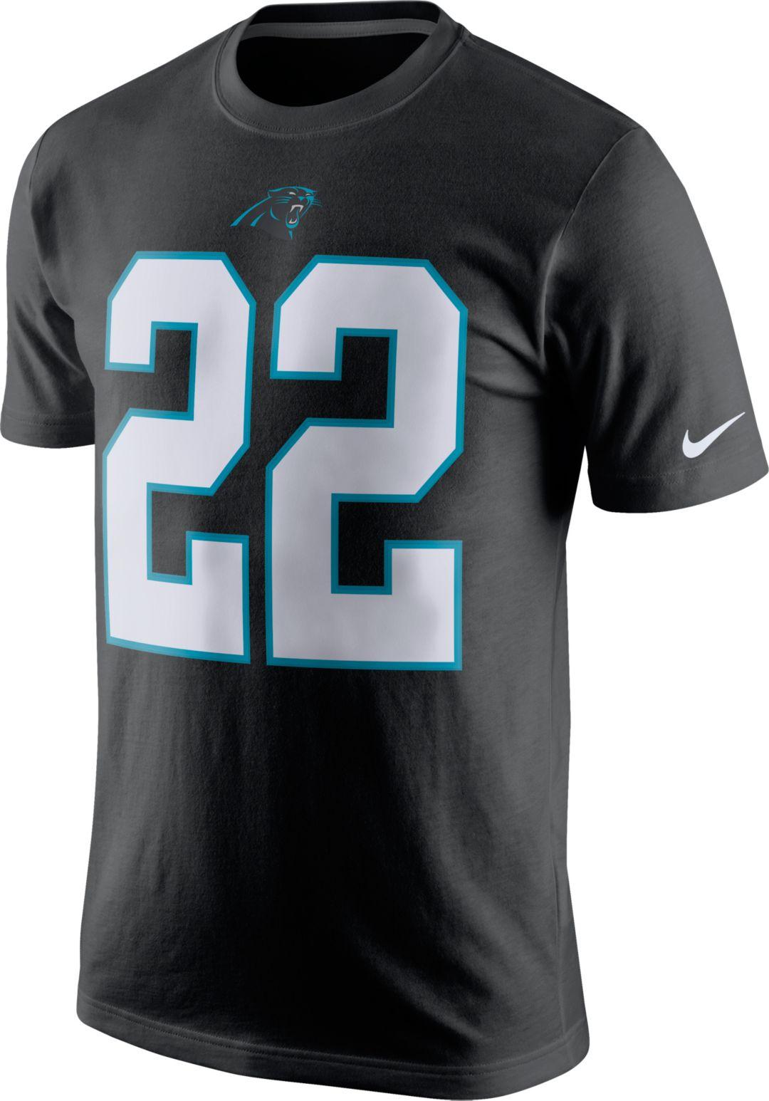fe863f1d Nike Men's Carolina Panthers Christian McCaffrey #22 Pride Black T-Shirt