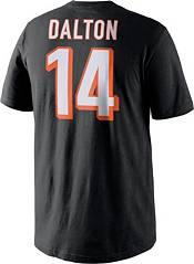Nike Men's Cincinnati Bengals Andy Dalton #14 Pride Black T-Shirt product image
