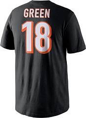 Nike Men's Cincinnati Bengals A.J. Green #18 Pride Black T-Shirt product image