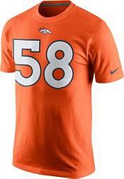 Nike Men's Denver Broncos Von Miller #58 Pride Orange T-Shirt product image