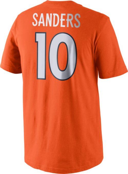 c4d2e8e69 Nike Men s Denver Broncos Emmanuel Sanders  10 Pride Orange T-Shirt.  noImageFound. Previous. 1. 2. 3