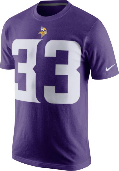 79d376f7ffc Nike Men's Minnesota Vikings Dalvin Cook #33 Pride Purple T-Shirt ...