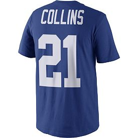 Nike Men s New York Giants Landon Collins  21 Pride Blue T-Shirt ... 9575ddaa2