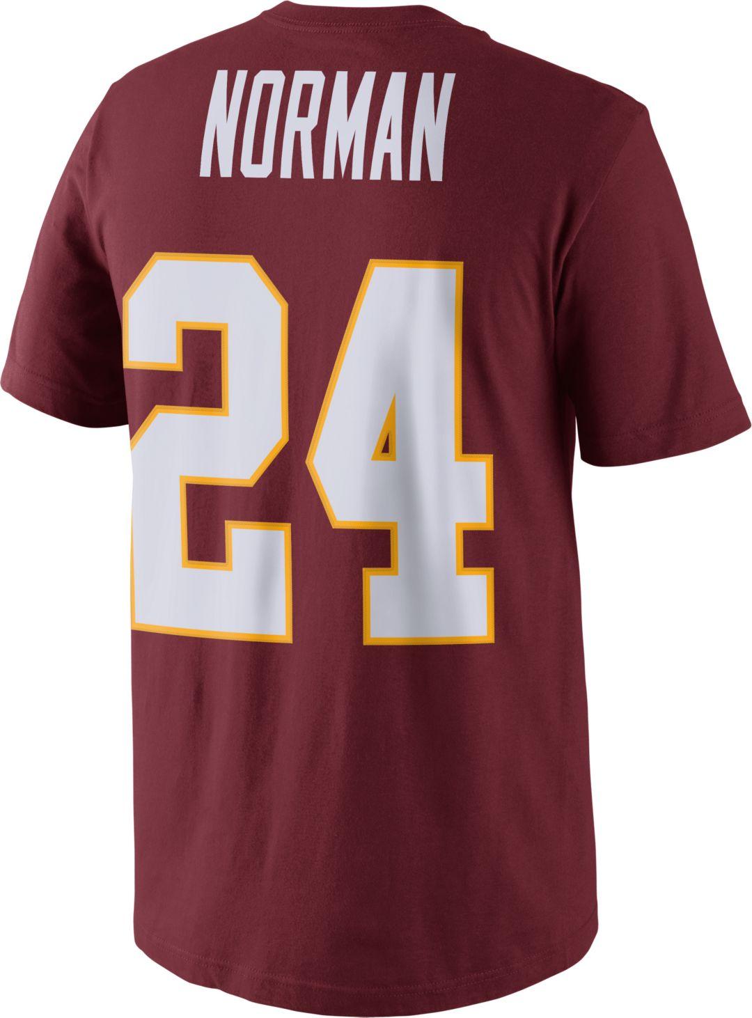 18a74c54 Nike Men's Washington Redskins Josh Norman #24 Pride Red T-Shirt