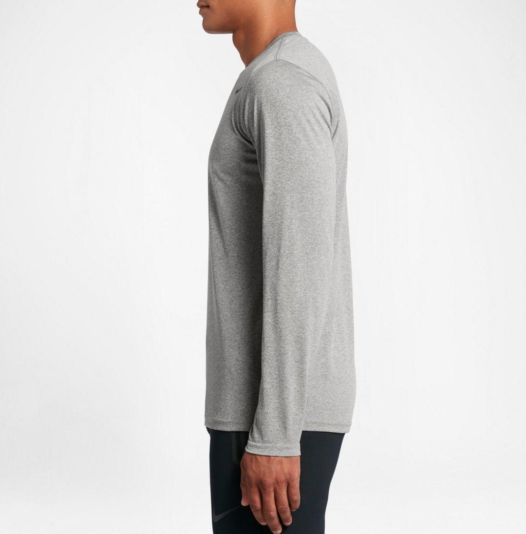 7b6f36e3 Nike Men's Legend Long Sleeve Shirt