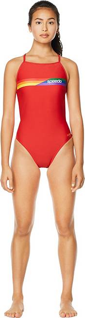 Speedo Women's Pride Graphic One Back One Piece Swimsuit product image