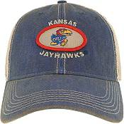 League-Legacy Men's Kansas Jayhawks Blue Old Favorite Adjustable Trucker Hat product image