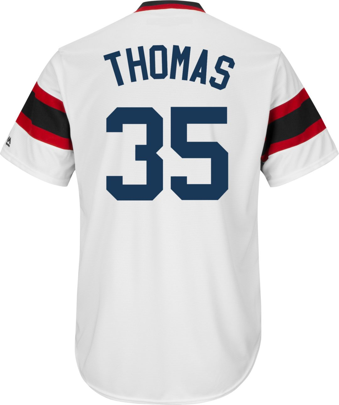 finest selection a7338 cf661 Majestic Men's Replica Chicago White Sox Frank Thomas Cool Base White  Cooperstown Jersey