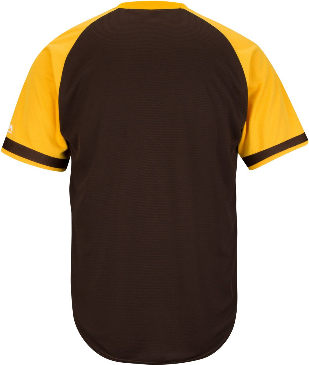 wholesale dealer 79fdb ae144 Majestic Men's Replica San Diego Padres Cool Base Brown Cooperstown Jersey