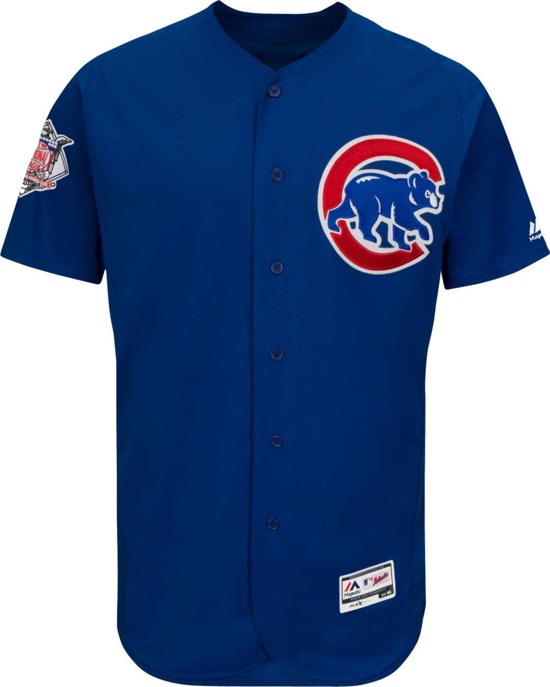 buy online 9963d c51b7 Majestic Men's Authentic Chicago Cubs Anthony Rizzo #44 Alternate Royal  Flex Base On-Field Jersey