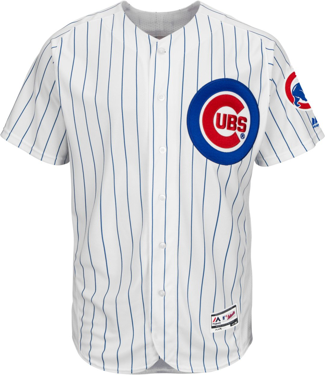 cheaper b89ed 34241 Majestic Men's Authentic Chicago Cubs Jon Lester #34 Home White Flex Base  On-Field Jersey