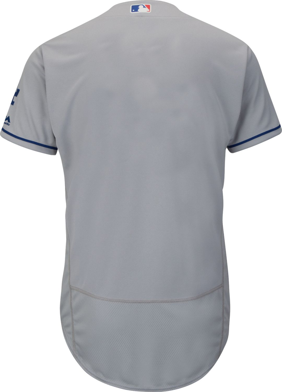46bb66f9 Majestic Men's Authentic Los Angeles Dodgers Road Grey Flex Base On-Field  Jersey. noImageFound. Previous. 1. 2. 3