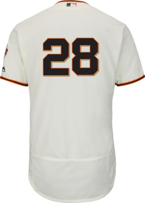 07f3696a8 Majestic Men s Authentic San Francisco Giants Buster Posey  28 Home Ivory  Flex Base On-Field Jersey. noImageFound. Previous. 1. 2. 3