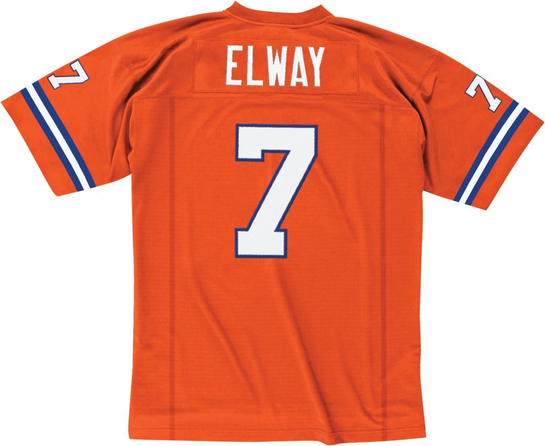 reputable site 7192a 26a24 Mitchell & Ness Men's 1998 Alternate Game Jersey Denver Broncos John Elway  #7